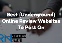 Best {Underground} Online Review Websites To Post On