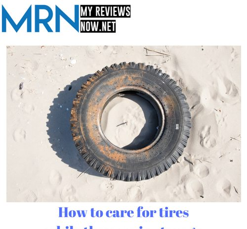 How to care for tires while they are in storage