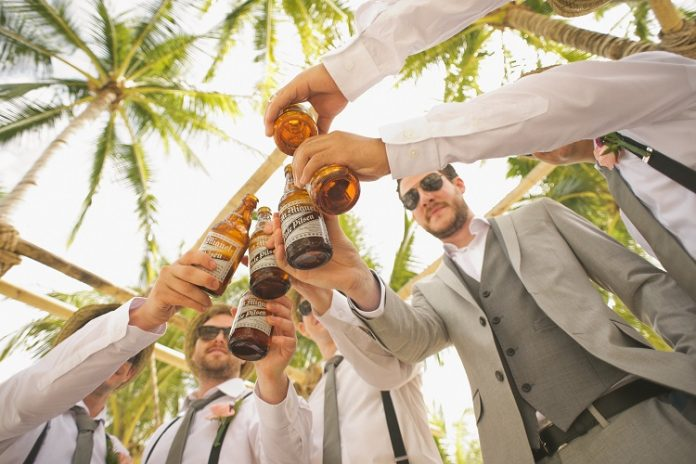 throwing a bachelor party
