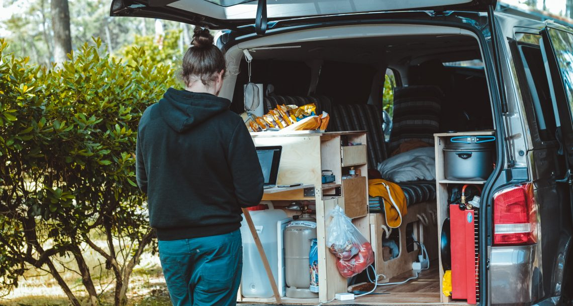 How to Live in a Van and Travel Anywhere