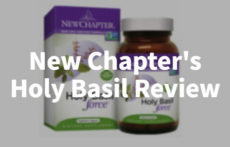 New Chapter Holy Basil Review